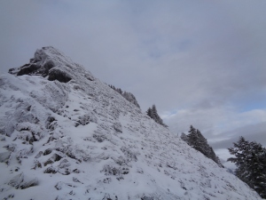 Scramble to the top of McClellan Butte