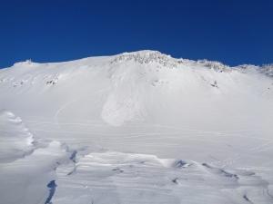 Avalanche debris