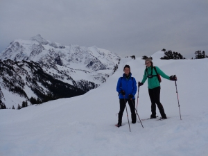Me and Lee in front of Shuksan
