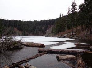 Mason Lake from the outlet stream