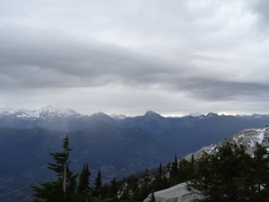 Whitehorse and Three Fingers before views disappeared
