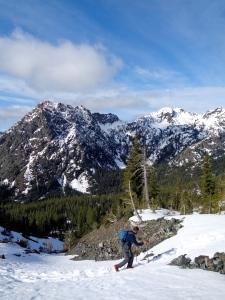 Surafel with Esmerelda Peaks in the background