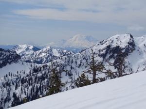 View of Rainier