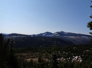 Looking over the valley at Silver Peak