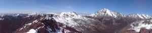 Panorama from Gene's Peak