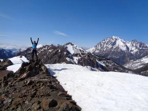 Iron peak summit