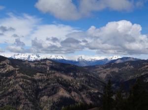Lemahs, Chimney Rock/Overcoat peaks, Summit Chief, Bear's Breast, Hinman, Daniel