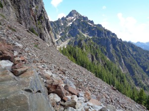 Second talus slope