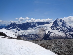 Mt. Shuksan from the top of Ruth