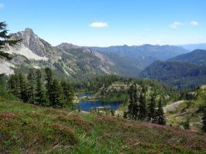 Lila Lake with Hibox on the left