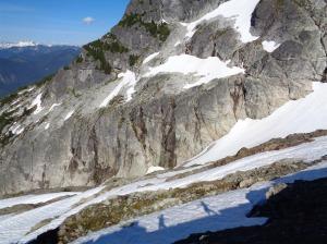 Shadows along the ridge