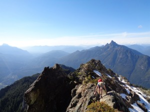 One more pic of Lee along the ridge