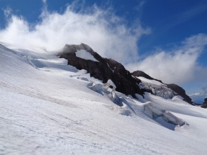 Snow arch!